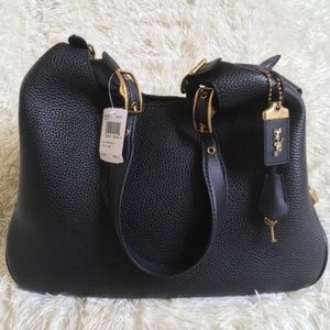 Coach 1941 Cass Shoulder Bag Hobo in Black